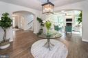 Elegant breakfast area- Heart of the Home - 9524 LEEMAY ST, VIENNA