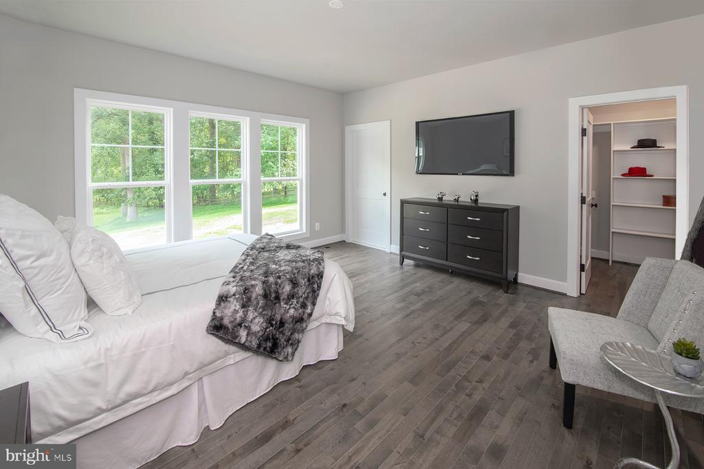 A first floor bedroom suite that has great light - 9524 LEEMAY ST, VIENNA