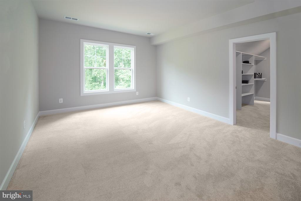 Secondary Owners Suite with HUGE walk-in closet - 9524 LEEMAY ST, VIENNA