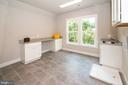 Expansive laundry work room on bedroom level - 9524 LEEMAY ST, VIENNA