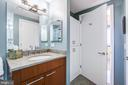 Added cabinet storage in Guest bath - 2001 15TH ST N #1213, ARLINGTON