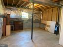 Unfinished Area - 9 foot ceiling - 5334 DICKERSON RD, PARTLOW