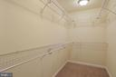 large walk in closet, master bedroom - 30831 PORTOBAGO TRL, PORT ROYAL