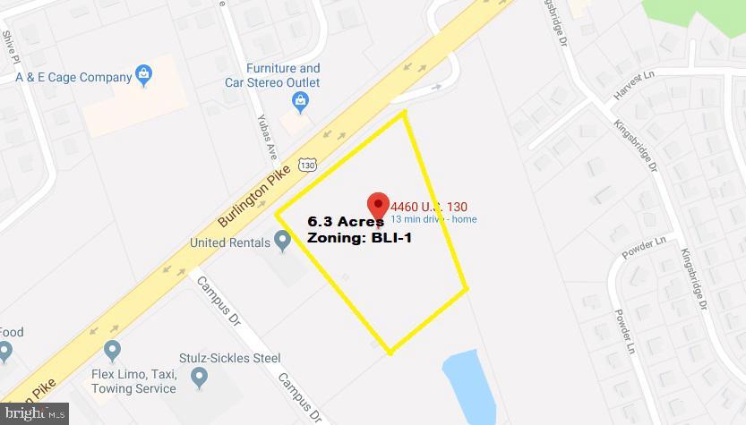 Mark för Försäljning vid Burlington Township, New Jersey 08016 Förenta staterna