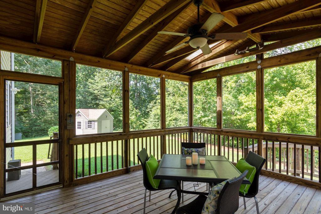 screened porch with skylights - 30831 PORTOBAGO TRL, PORT ROYAL