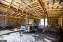 Barn interior - 50 CEDAR OAKS LN, FREDERICKSBURG