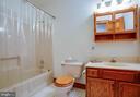 Hall bathroom - 50 CEDAR OAKS LN, FREDERICKSBURG