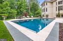Pool with Deck Jets - 906 TURKEY RUN RD, MCLEAN