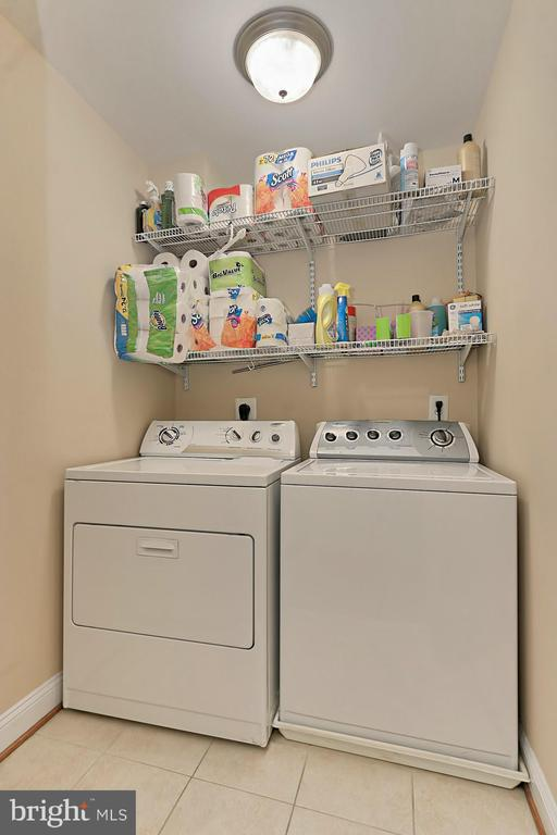 Laundry Room on Bedroom Level (Upper level) - 3441 25TH CT S, ARLINGTON