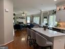 Quartz island for eating and entertaining - 802 SE TINA DR SE, LEESBURG