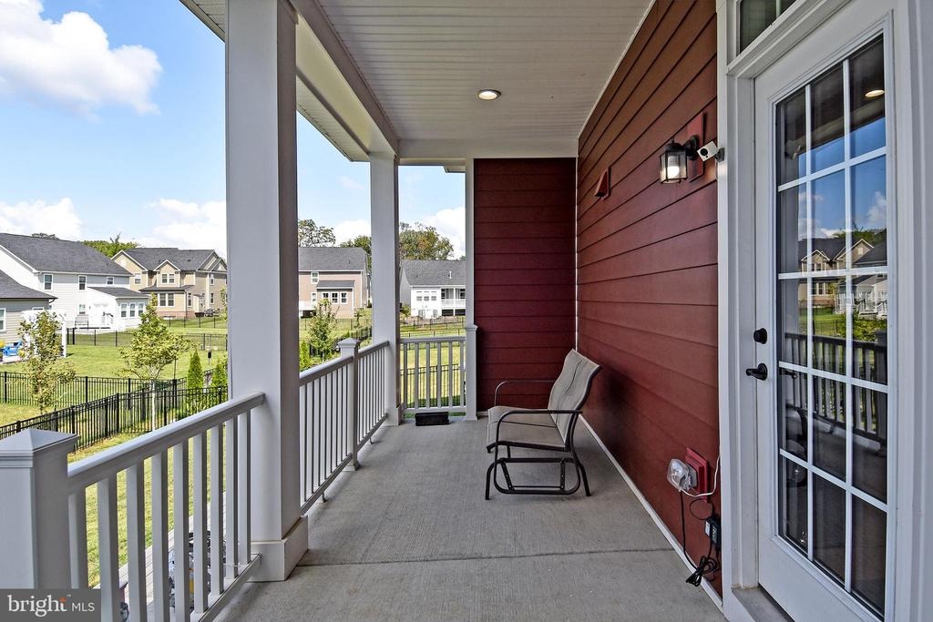 Covered Back Porch - 2522 SWEET CLOVER CT, DUMFRIES