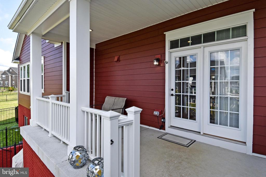 Back Porch off Kitchen - 2522 SWEET CLOVER CT, DUMFRIES