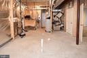 Rough-in for a full bathroom in Basement - 2522 SWEET CLOVER CT, DUMFRIES