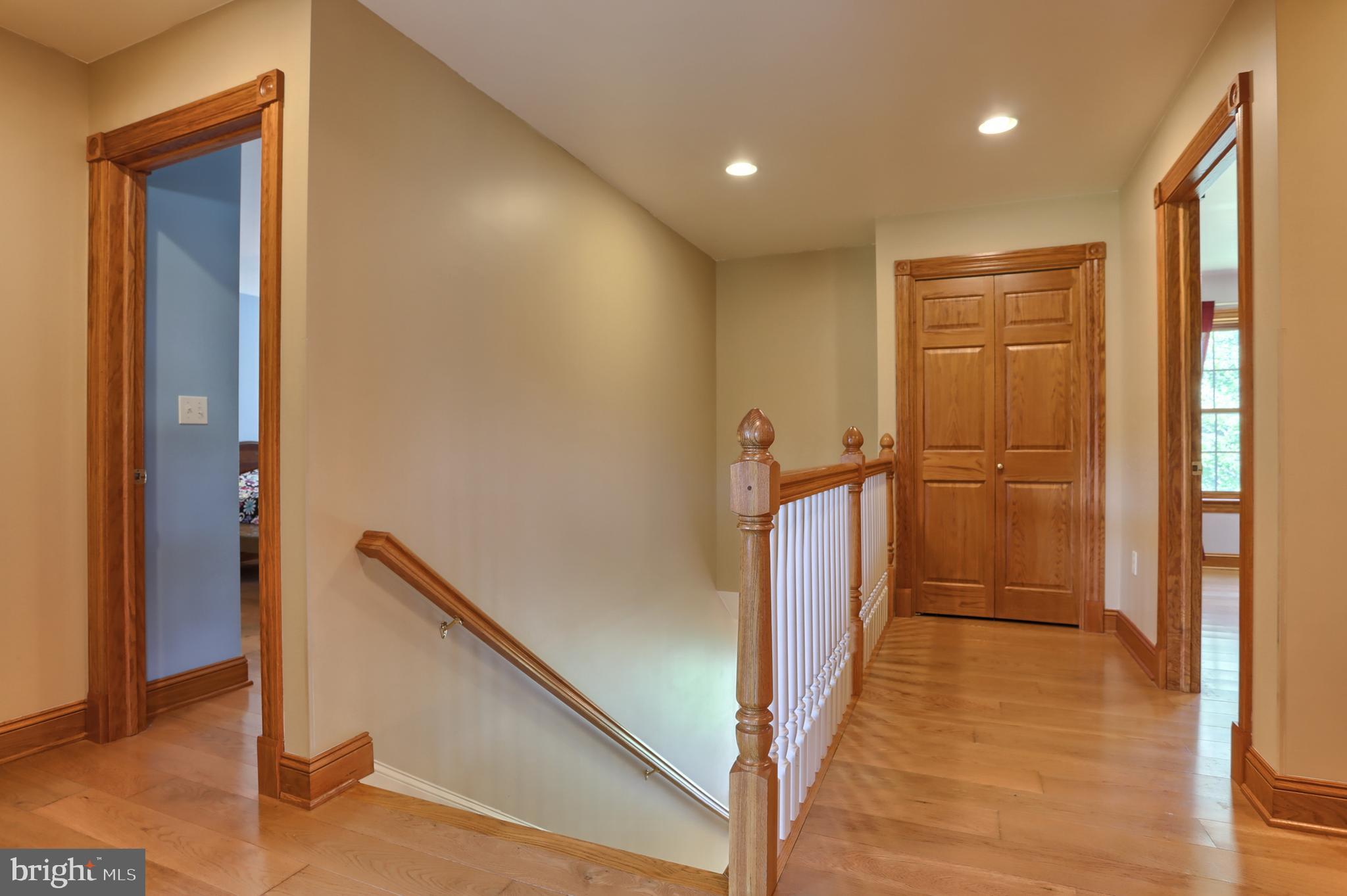 2nd floor - hall linen closet