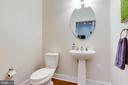 Half bath on main level - 1418 N RHODES ST #B414, ARLINGTON
