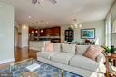 Open living area - 1418 N RHODES ST #B414, ARLINGTON