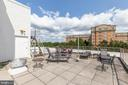 Roof Deck - 2016 N ADAMS ST #206, ARLINGTON
