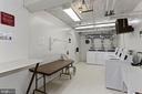 Secure laundry room in same building... - 1801 KEY BLVD #10-506, ARLINGTON