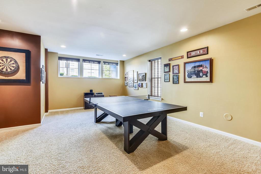 GREAT AREA FOR ENTERTAINING ON THE LOWER LEVEL - 44533 NEPONSET ST, ASHBURN