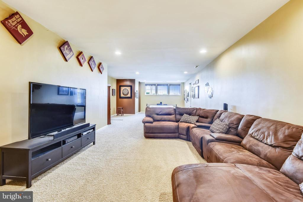 EXPANSIVE FINISHED LOWER LEVEL - 44533 NEPONSET ST, ASHBURN