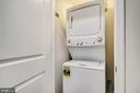 Upgraded Stacked Washer/Dryer Master Bedroom Level - 42908 SANDY QUAIL TER, ASHBURN