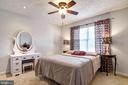 Master beedroom  upstairs - 8510 GENERAL WAY, MANASSAS PARK