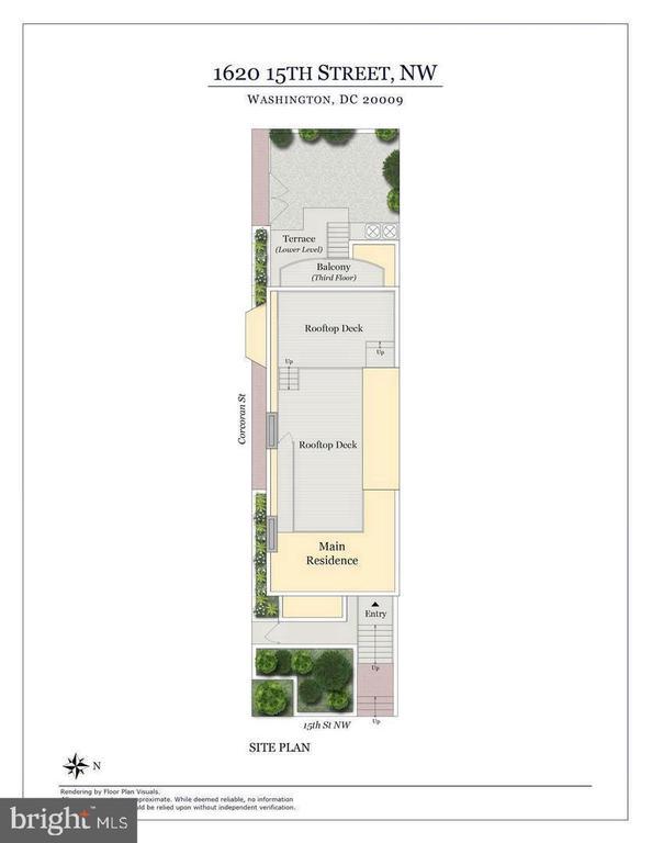 Rooftop Floor Plan - 1620 15TH ST NW, WASHINGTON