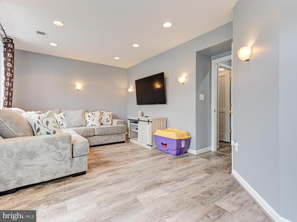 Basement rec room - 43592 PURPLE ASTER TER, LEESBURG