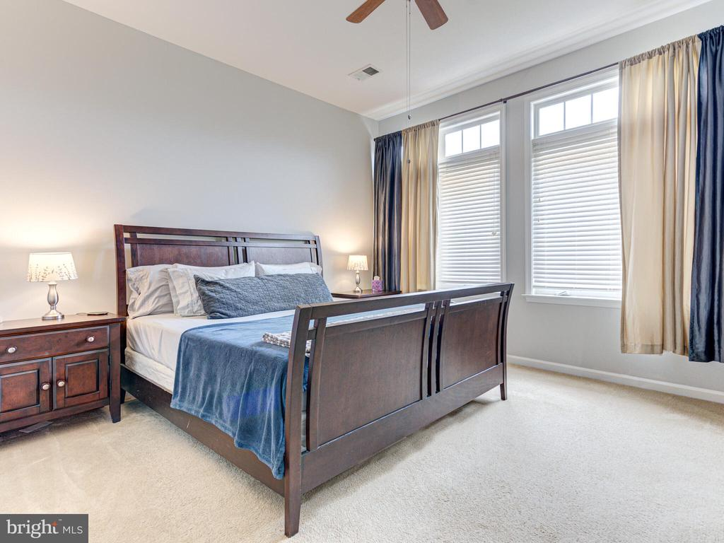 Very spacious master bedroom - 43592 PURPLE ASTER TER, LEESBURG