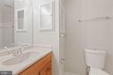 Upstairs Hall Bathroom - 6244 COVERED BRIDGE RD, BURKE