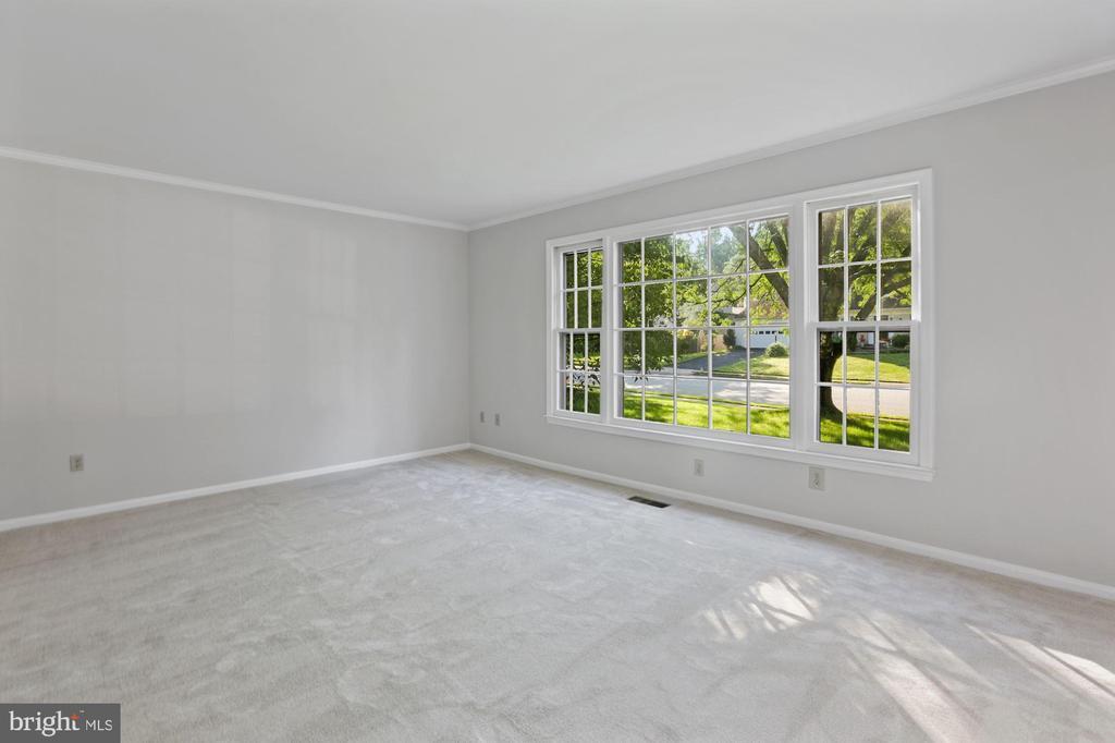 Living Room - 6244 COVERED BRIDGE RD, BURKE