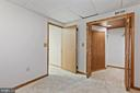Finished room in Basement for hobbies, exercise - 6244 COVERED BRIDGE RD, BURKE