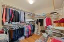 HIS / HERS WALK IN CLOSETS - 108 HIGH RIDGE DR, STAFFORD