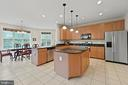 LARGE KITCHEN - 108 HIGH RIDGE DR, STAFFORD