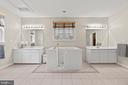 MAIN LEVEL MASTER BATH / WALK IN TUB - 108 HIGH RIDGE DR, STAFFORD