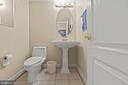 HALF BATH - 108 HIGH RIDGE DR, STAFFORD