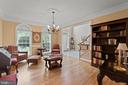 FORMAL DINING ROOM / HARDWOOD FLOORS - 108 HIGH RIDGE DR, STAFFORD