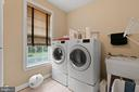 LAUNDRY WITH SINK - 108 HIGH RIDGE DR, STAFFORD