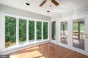 Sunroom complete with upgraded Andersen windows - 12984 PINTAIL RD, WOODBRIDGE