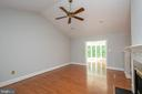 Huge Living Room & view of Sunroom from Entry - 12984 PINTAIL RD, WOODBRIDGE