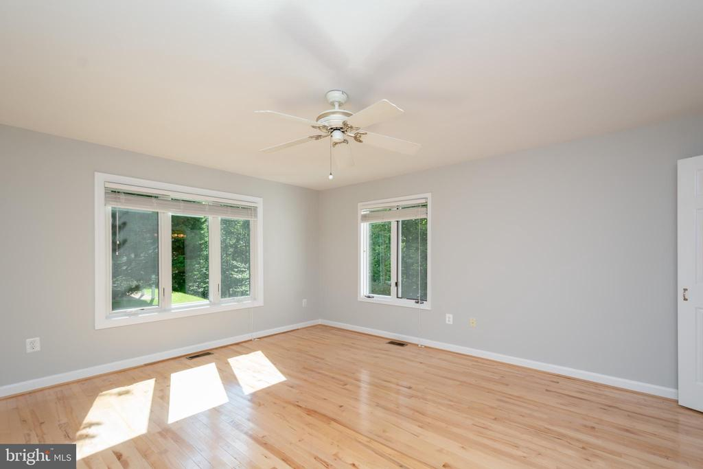 Primary Bedroom offers Year Round Treed Views - 12984 PINTAIL RD, WOODBRIDGE