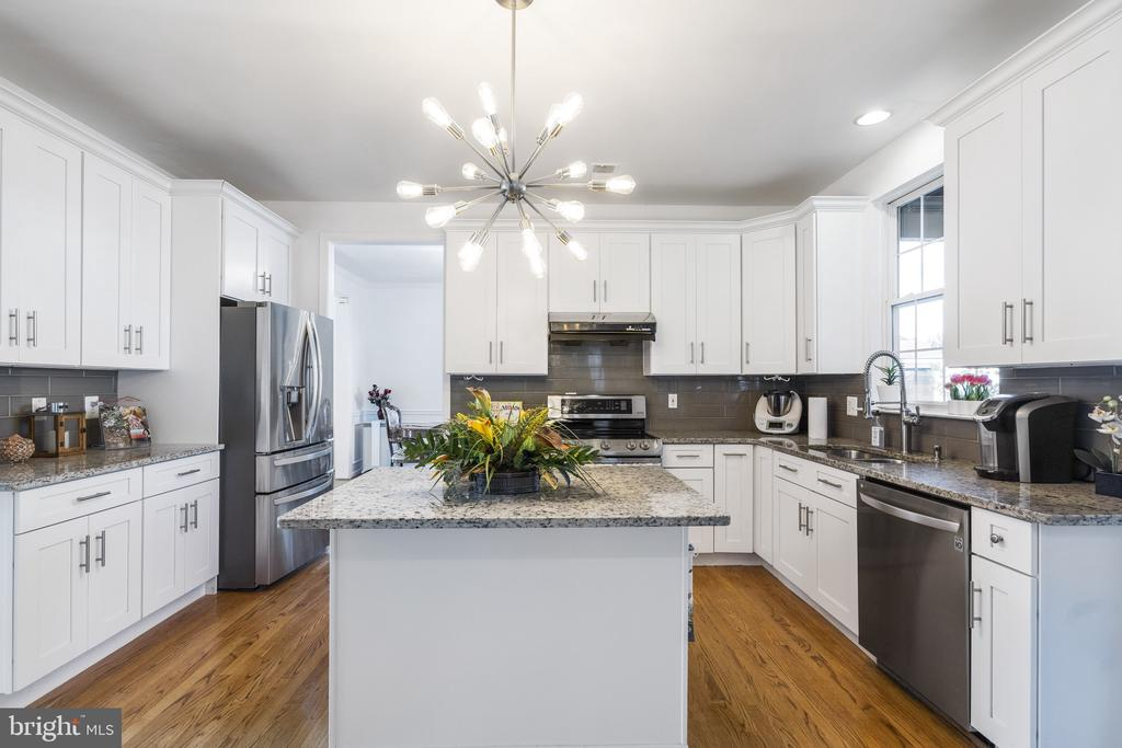 Granite countertop,  luxury cabinets, long handles - 20887 CHIPPOAKS FOREST CIR, STERLING