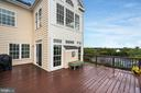 Time to relax and enjoy the views from deck - 18504 PINEVIEW SQ, LEESBURG