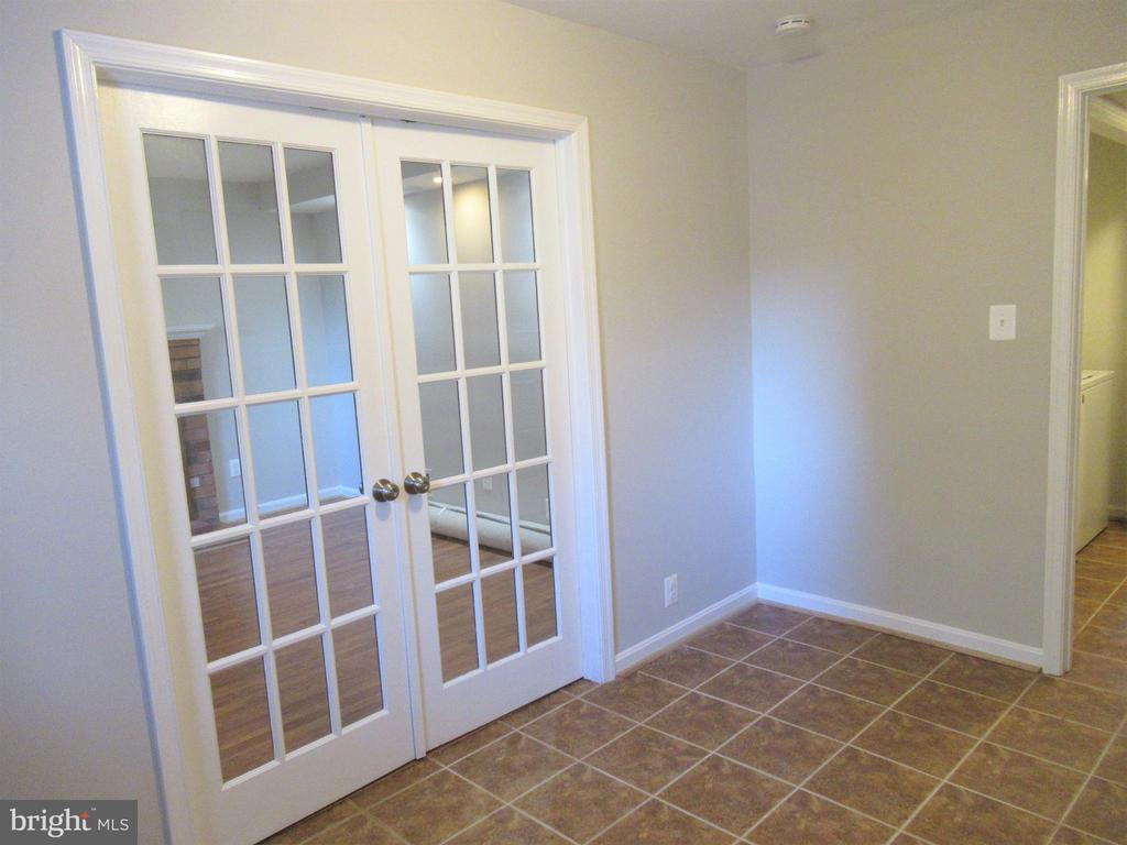 French Doors to 4th Bedroom - 20 S ABINGDON ST, ARLINGTON