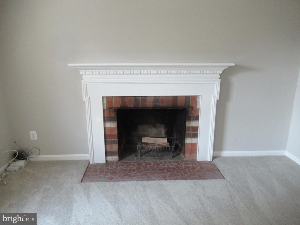 Living Room Fireplace - 20 S ABINGDON ST, ARLINGTON