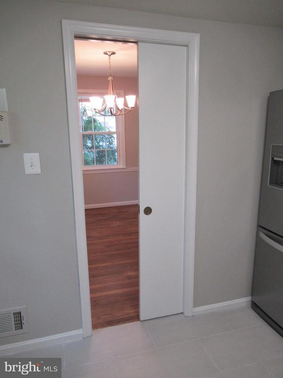 Pocket Doors in Kitchen - 20 S ABINGDON ST, ARLINGTON