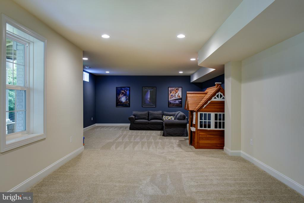 Large additional Rec Room - 21144 WALKLEY HILL PL, ASHBURN