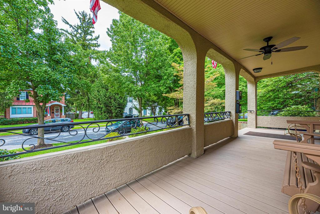 Exterior Front Porch - 316 W COLLEGE TER, FREDERICK
