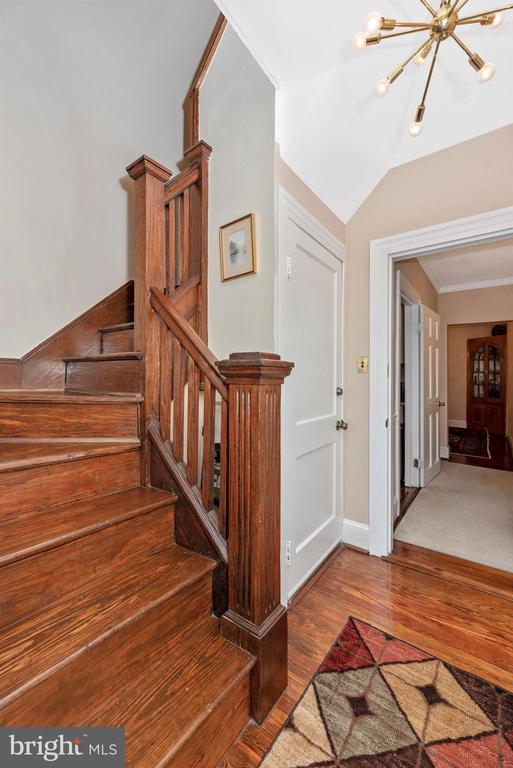 Back Staircase - 316 W COLLEGE TER, FREDERICK