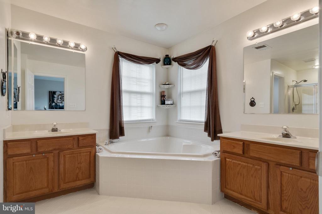 Master bathroom with soaking tub - 802 SE TINA DR SE, LEESBURG